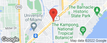 Map of 708 S Dixie Hwy in Coral Gables