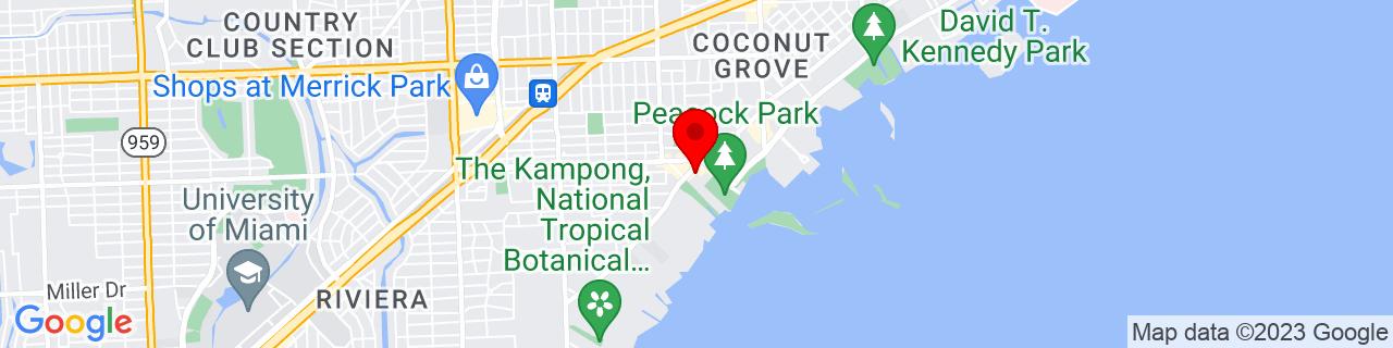 Google Map of 25.7270636, -80.242841