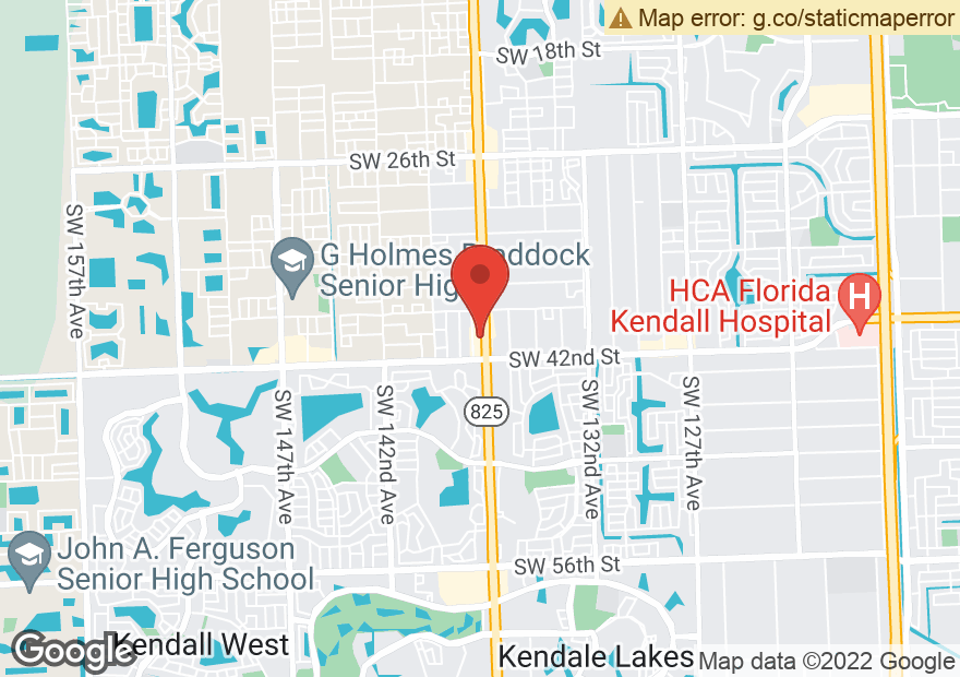 Google Map of 4010 SW 137TH AVE