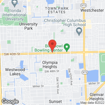 Map of Check `n Go at 9801 SW 40th St., Miami, FL 33165