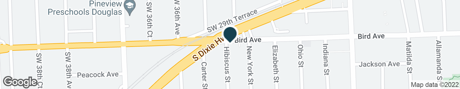 Google Map of3490 BIRD RD