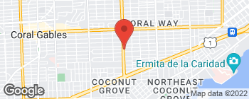 Mapa de 2455 SW 27th Ave en Miami