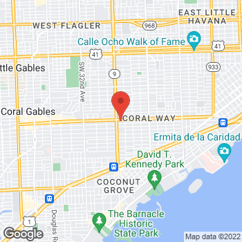 Map of Sprint at 2520 Sw 22nd St, Miami, FL 33145
