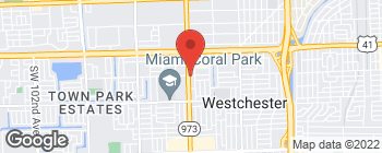 Map of 1201 SW 87th Ave in Miami