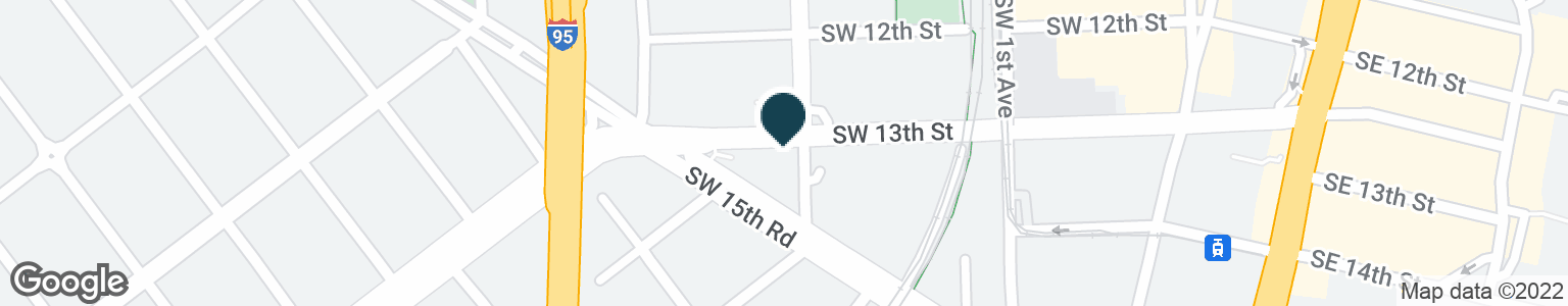 Google Map of200 SW 13TH ST