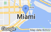 Map of Miami, FL