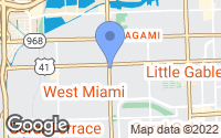 Map of West Miami, FL