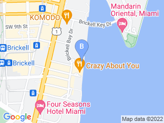Map of Four Legged Pet Care Dog Boarding options in Miami | Boarding