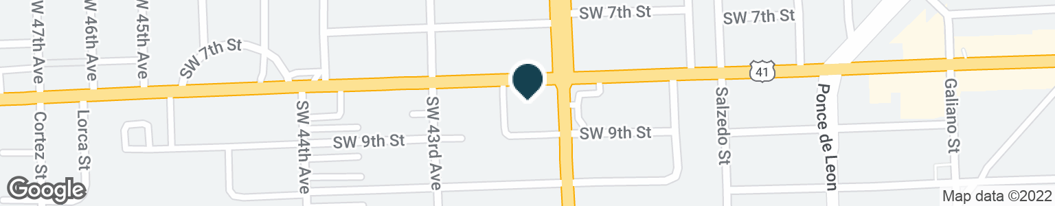Google Map of4200 SW 8TH ST