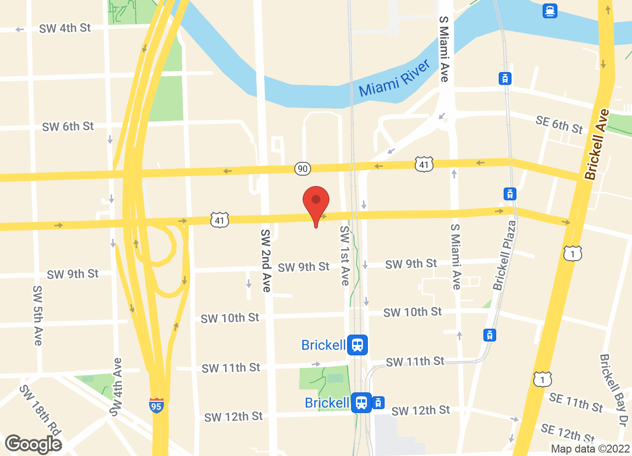 Google Map of VCA Brickell Animal Hospital