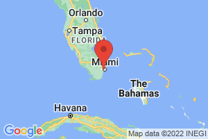 Map of Greater Miami Area