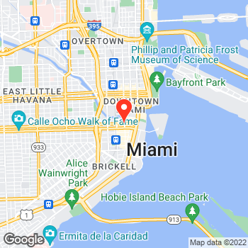Map of Cole Haan at 701 South Miami Avenue, Miami, FL 33131