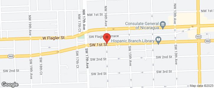 1600 SW 1 st Miami FL 33135