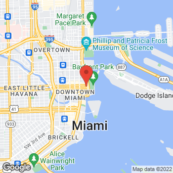 Map of National Planning Corporation at 2 South Biscayne Blvd, Miami, FL 33131