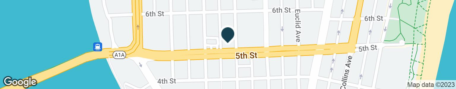 Google Map of524 JEFFERSON AVE