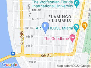 Map of Paws Lover Dog Walking Dog Boarding options in Miami | Boarding