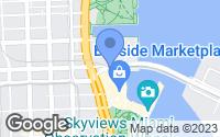 Map of Miami, FL