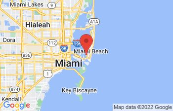 Map of Miami Beach