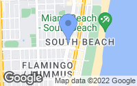 Map of Miami Beach, FL