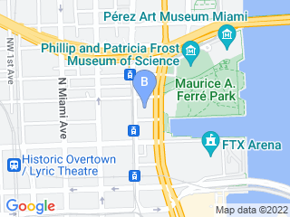 Map of 5 Paw Pets Miami Dog Boarding options in Miami | Boarding
