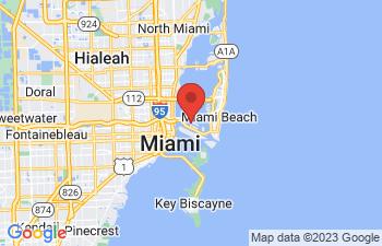 Map of Miami Beach