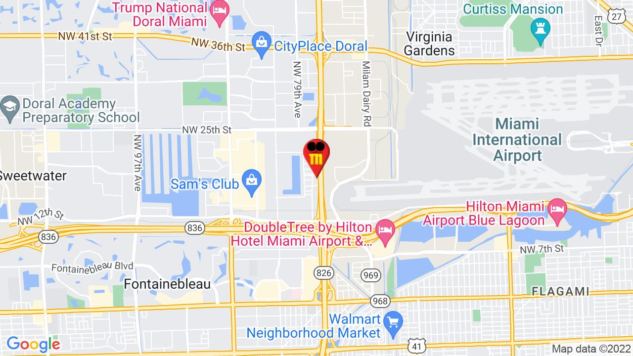 Google Map of Central Miami Pest Control