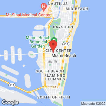 Map of BCBG at Macy's at 1675 Meridian Ave., Miami Beach, FL 33139
