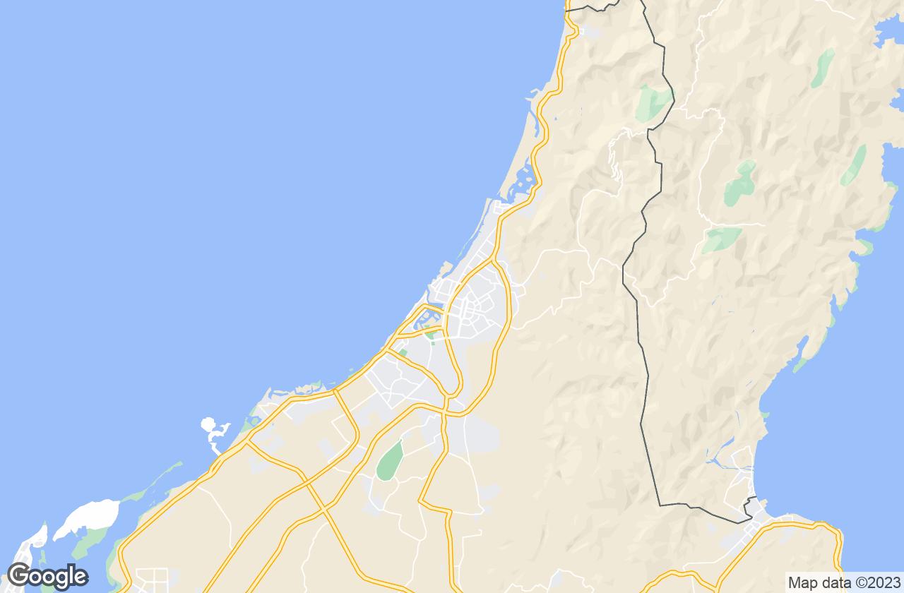 Google Map of رأس الخيمة