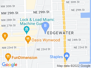 Map of Urban Cat Sitter Dog Boarding options in Miami | Boarding