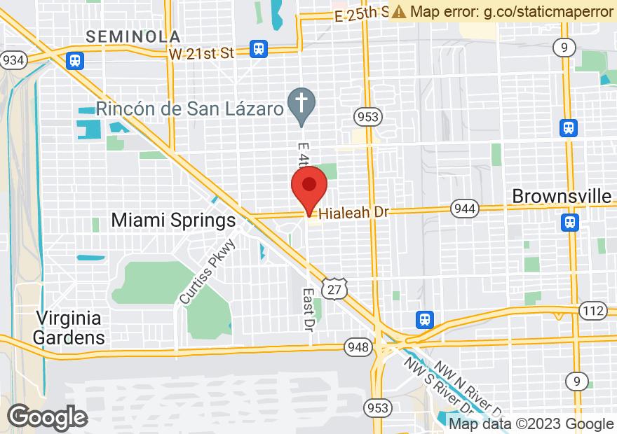 Google Map of 400 HIALEAH DR