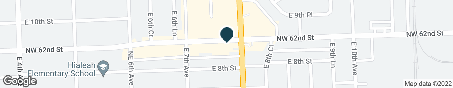 Google Map of780 E 9TH ST