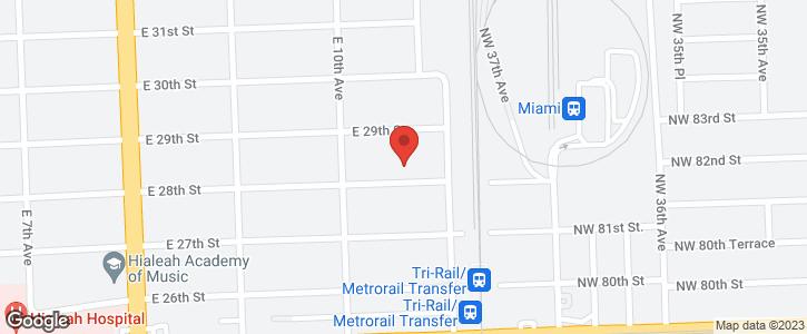 1055 E 28 ST Miami FL 33013