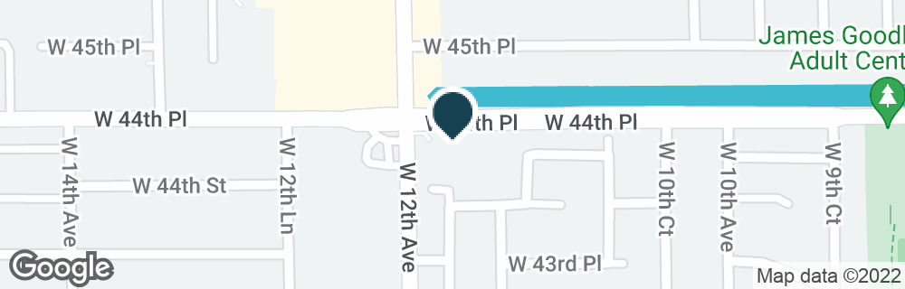 Google Map of4451 W 12TH AVE