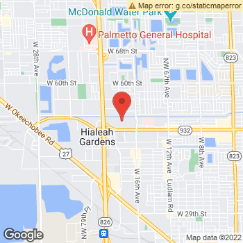 Map of AMERICAN EAGLE OUTFITTERS at 1665 West 49th Street, Hialeah, FL 33013