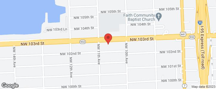 1064 NW 103rd St Miami FL 33150