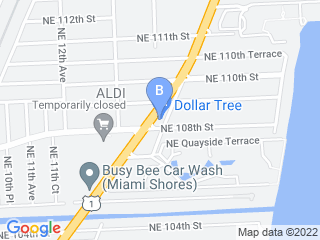 Map of Waggle Bros Pet Resort   Spa Dog Boarding options in Miami | Boarding
