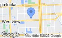 Map of North Miami, FL