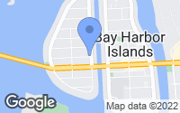 Map of Bay Harbor Islands, FL