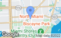 Map of Biscayne Park, FL