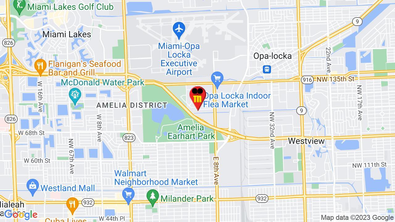 Google Map of North Miami Pest Control