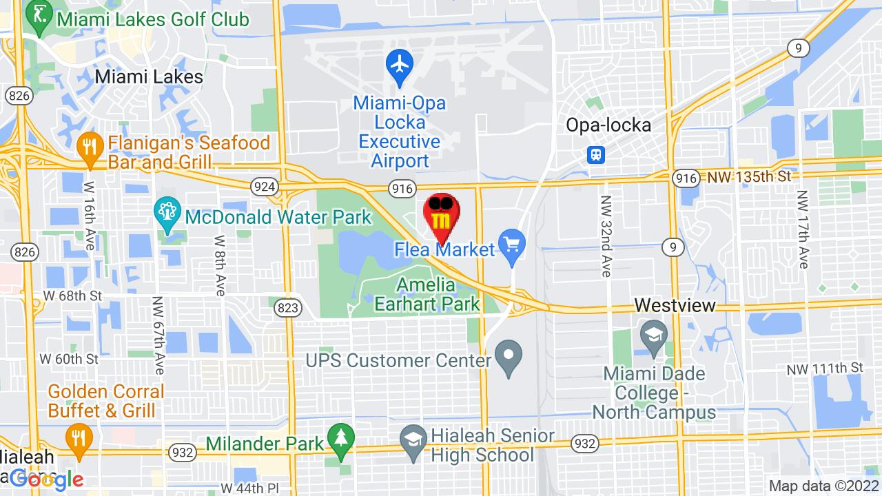 Google Map of North Miami Pest Control
