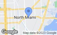 Map of Biscayne Park, FL