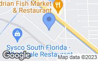 Map of Medley, FL
