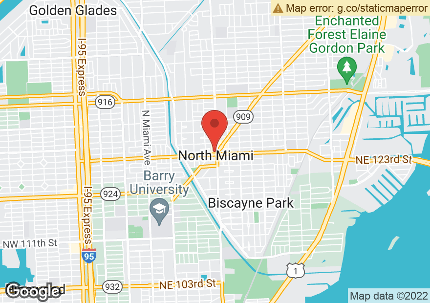 Google Map of 567 NE 125TH ST
