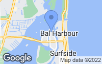 Map of Bay Harbor Islands, FL