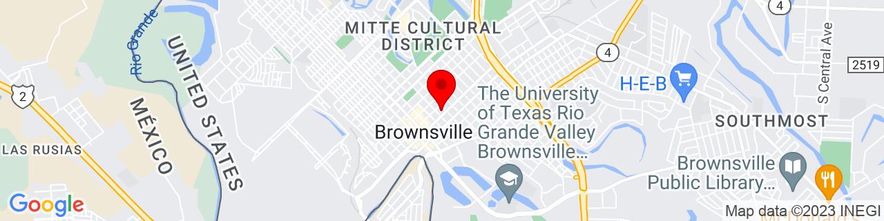 Google Map of 25.904116, -97.4953214