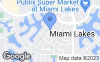 Map of Miami Lakes, FL