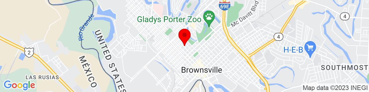 Google Map of 25.9082, -97.502629