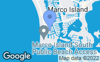 Map of Marco Island, FL