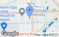 Map of Opa-locka, FL